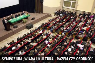 Sympozjum Wiara i Kultura