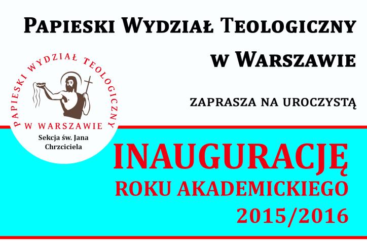 inauguracja 20152016m